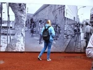 Besuch des Checkpoint Charlie. Foto: Ivette Witkowski