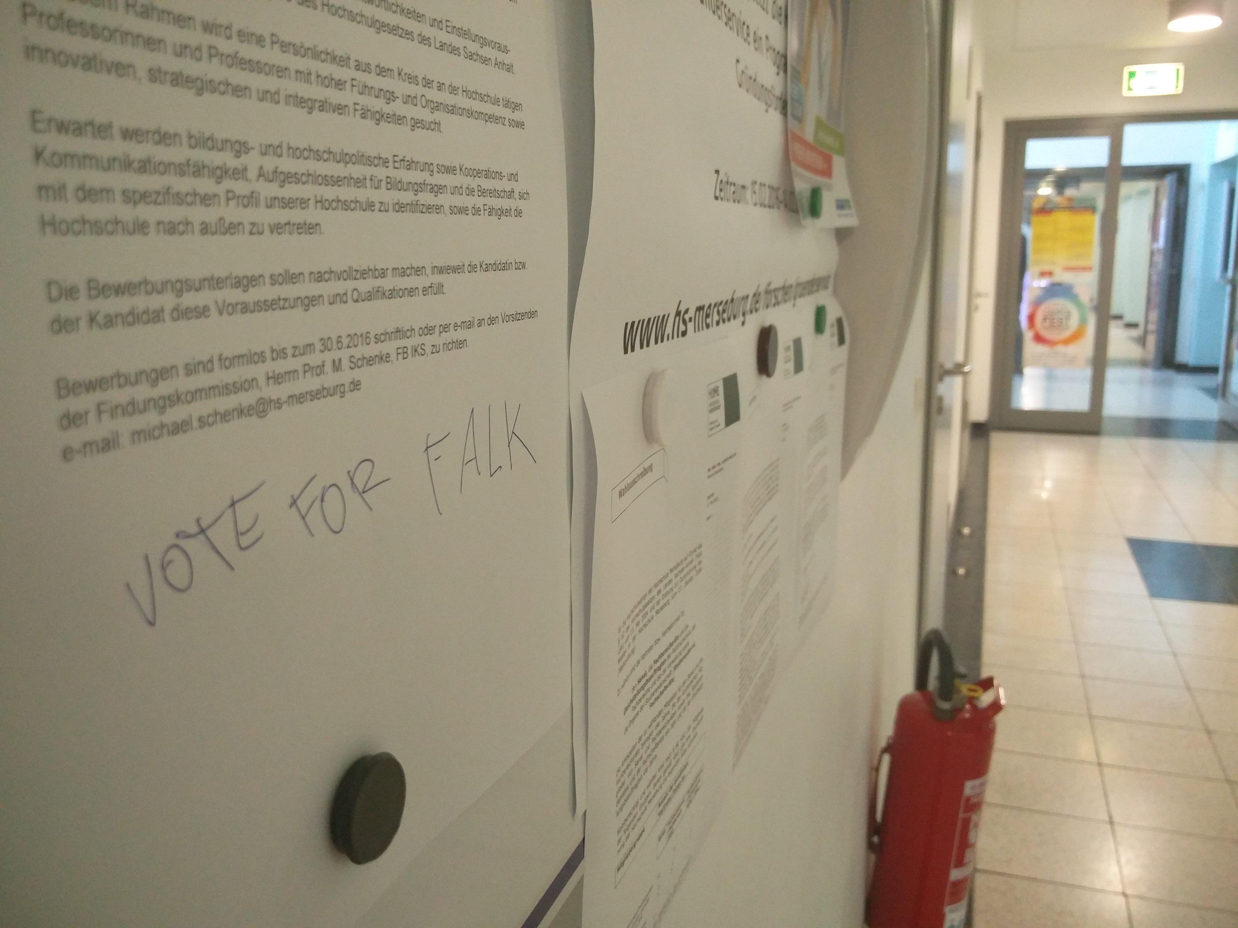 Vote for Falk