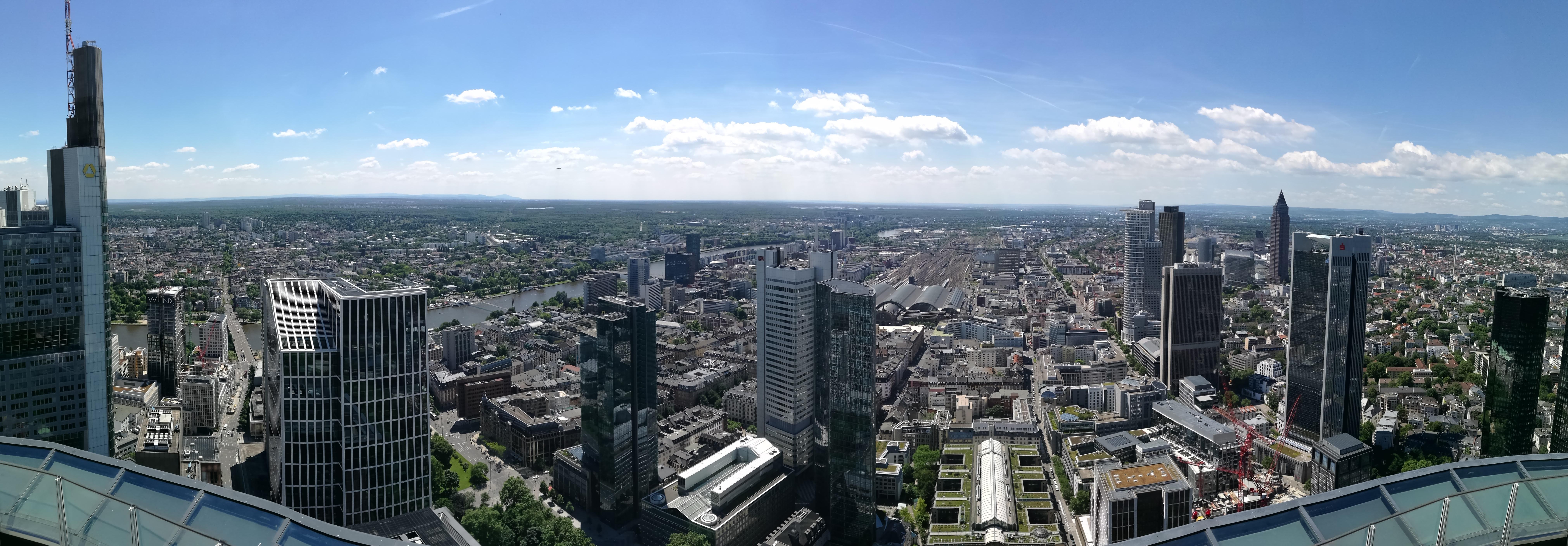 Panorama Frankfurt am Main