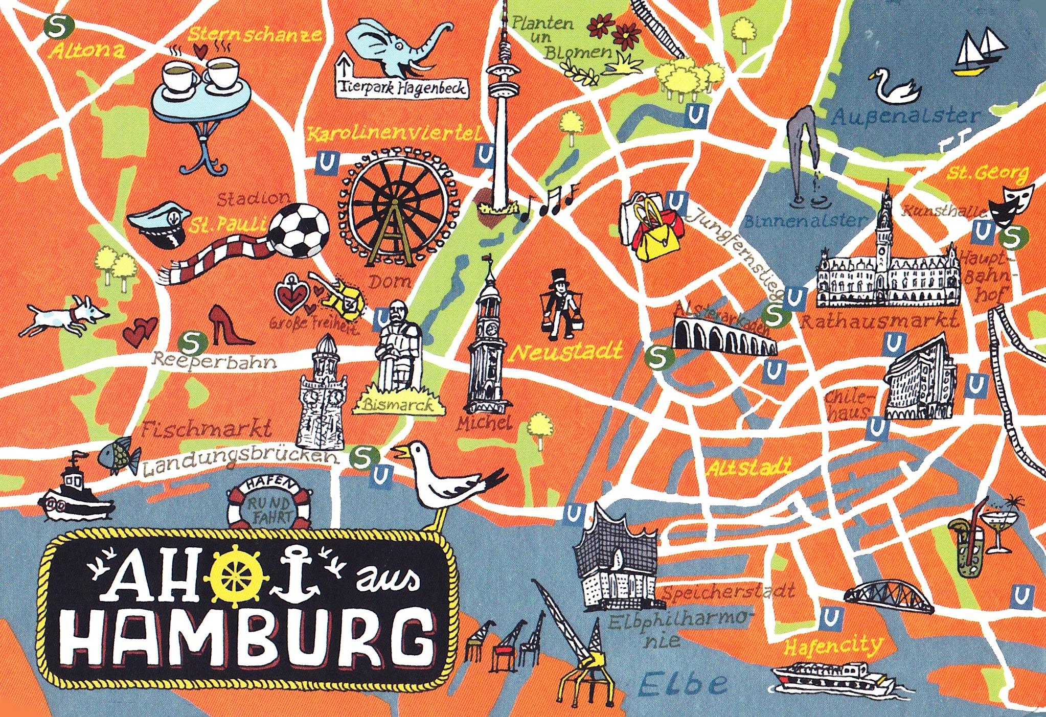 Hamburg Meine Perle Die Stadt An Der Elbe Comm