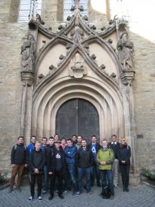 Studenten aus Tschechien zu Gast an der Hochschule Merseburg