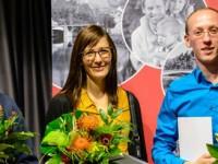 Preisträger /-innen Michael Richter (l.), Esther Stahl (M.) und Dustyn Ulrich (r.)