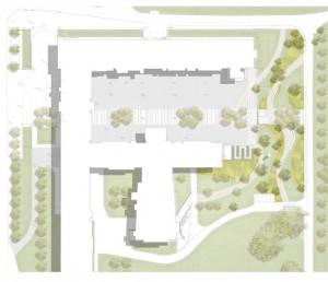 Entwurf für den Lesegarten | Quelle: Därr Landschaftsarchitekten