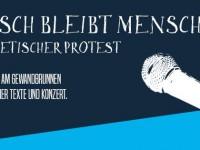 Mensch bleibt Mensch – Ein poetischer Protest!