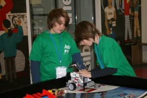 Trash-Trek – Wettbewerb der First Lego League