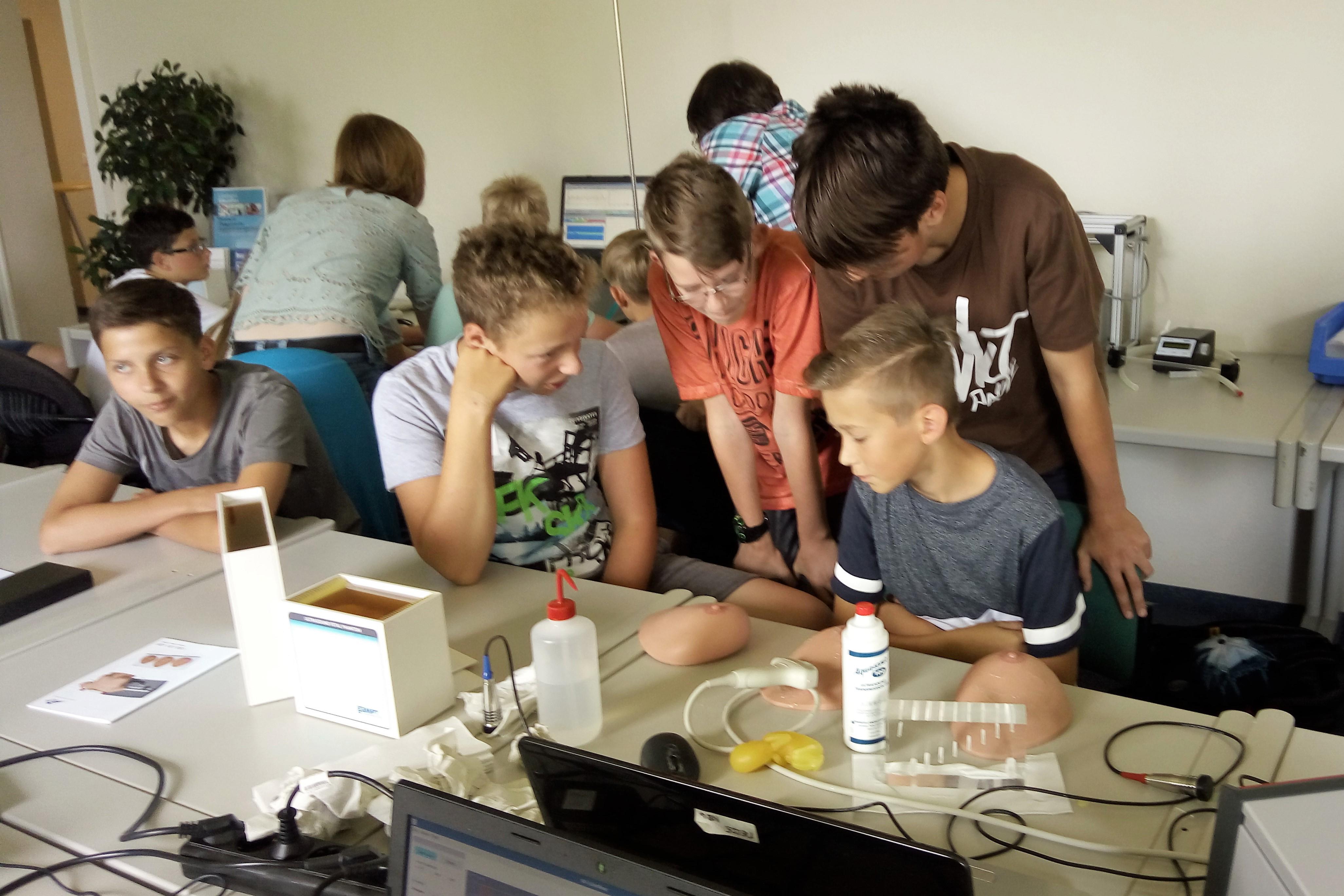 Sensible Sensoren bei Sommerakademie