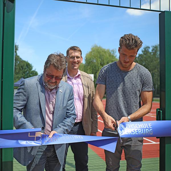 Eröffnung der neuen Sportanlagen